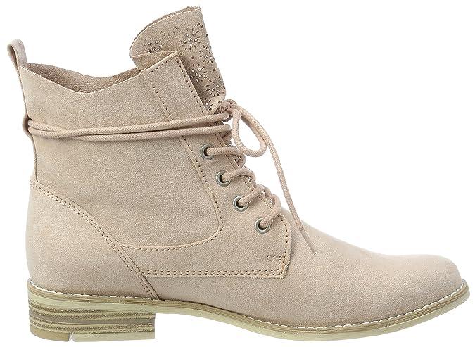 Marco Tozzi Womens 25105 Combat Boots Pink (Rose) 5 UK   eBay