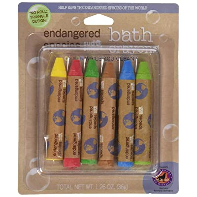 Endangered Species by Sud Smart Bath Crayons : Baby