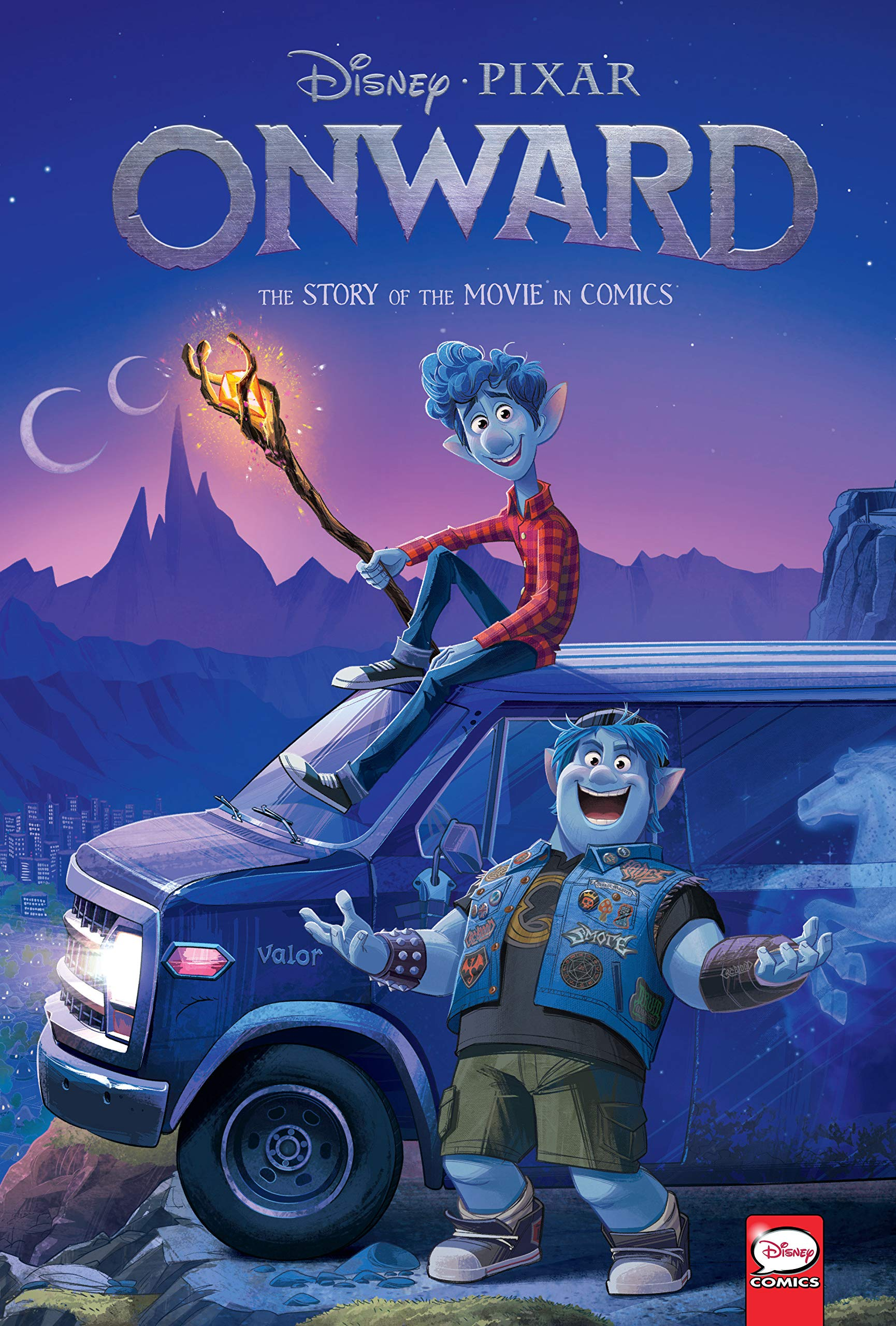 Disney/PIXAR Onward: The Story of the Movie in Comics: Amazon.ca: Disney:  Books