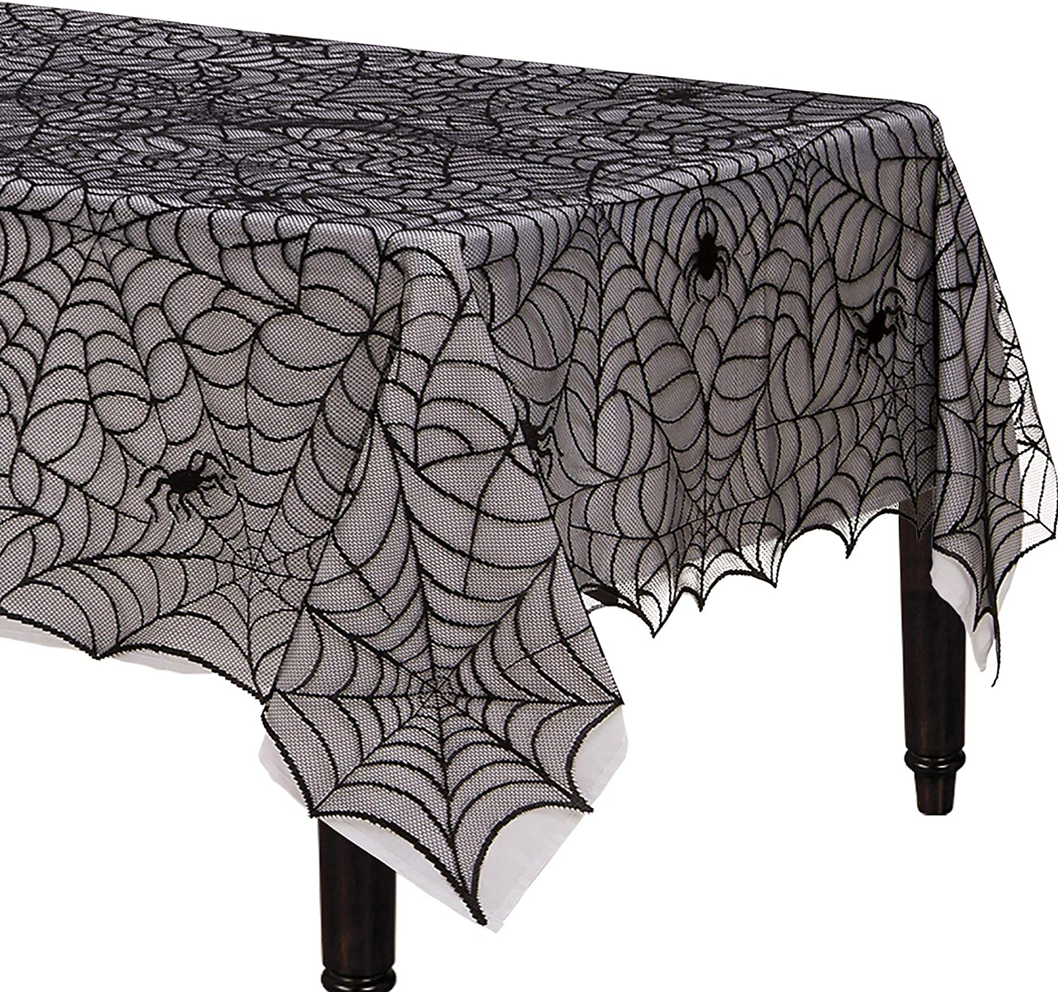 Spider Web Table Cover Halloween Tableware