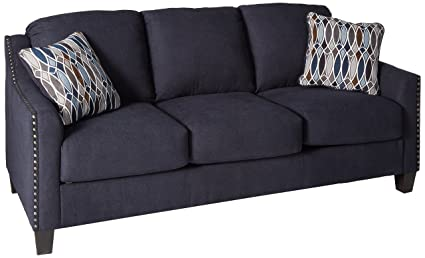 Benchcraft Creeal Heights Contemporary Sofa Sleeper   Queen Size Mattress  Included   Ink