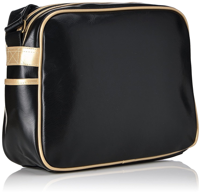Gola Classics Unisex Adult Redford CUB901 Messenger Bag, Black  (Black/Gold), One Size: Amazon.co.uk: Luggage