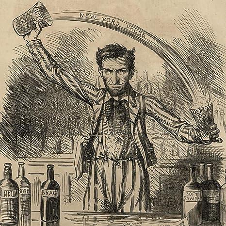 Amazon Com Abraham Lincoln Political Cartoon 1862 Freedom Of Press