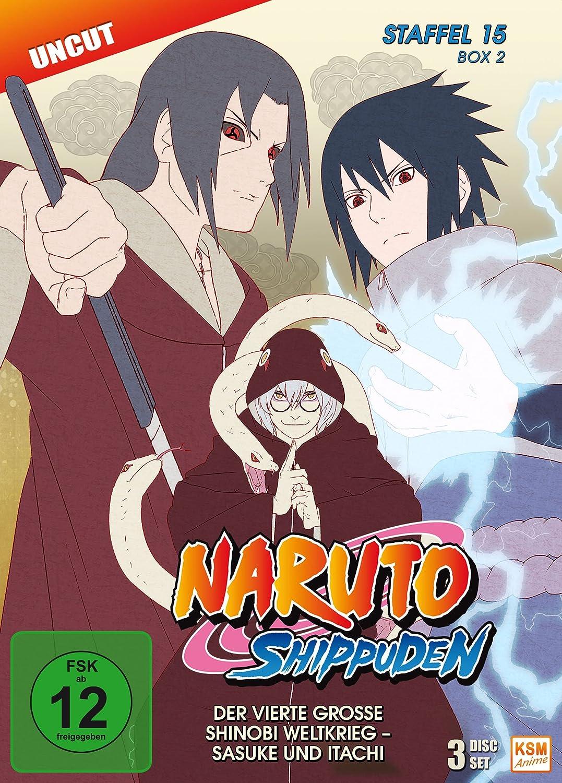 Naruto Shippuden - Staffel 15 - Box 2 Folgen 555-568, Uncut ...