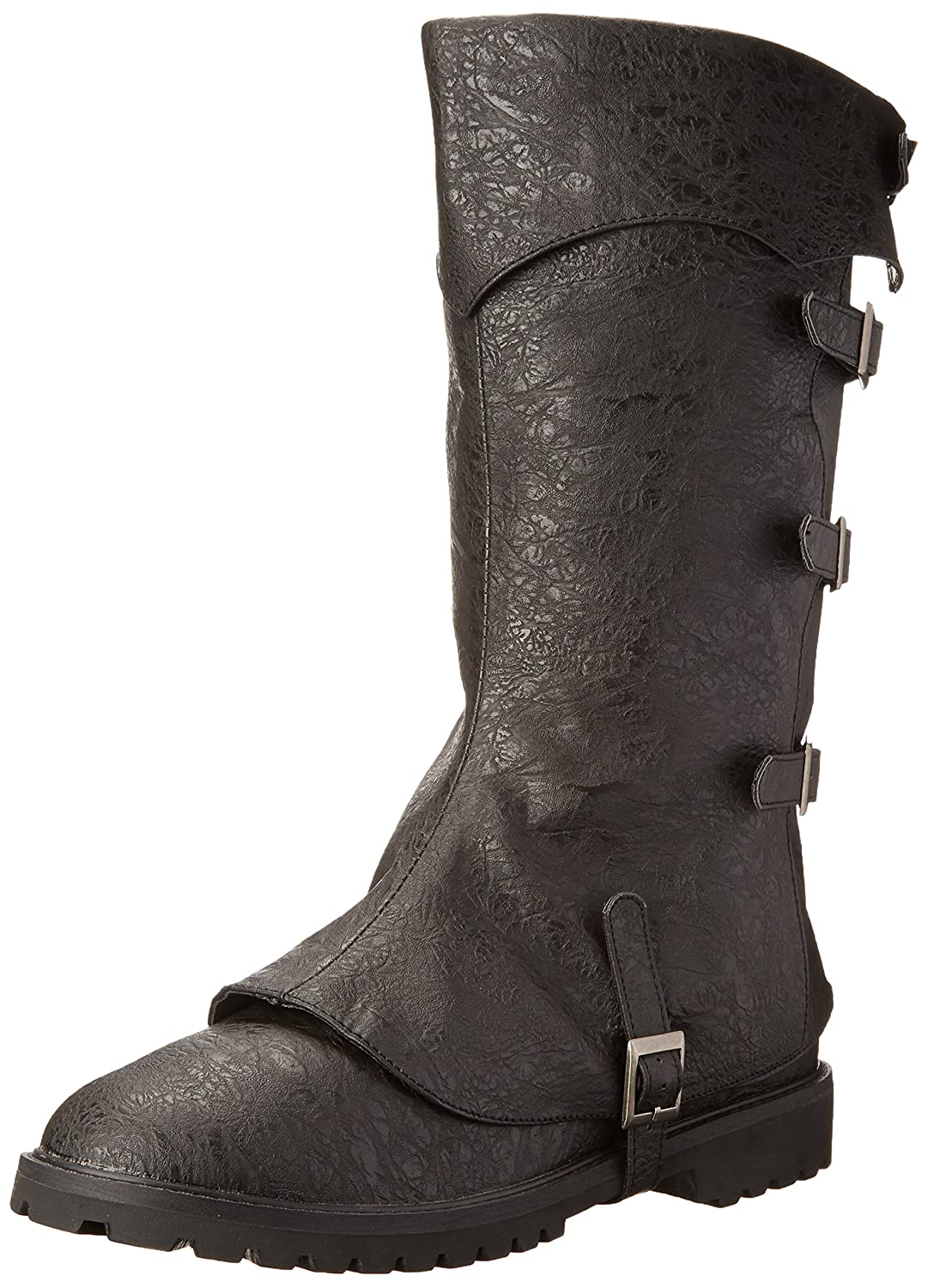 Steampunk Boots and Shoes for Men Funtasma Mens Gotham Engineer Boot $105.95 AT vintagedancer.com