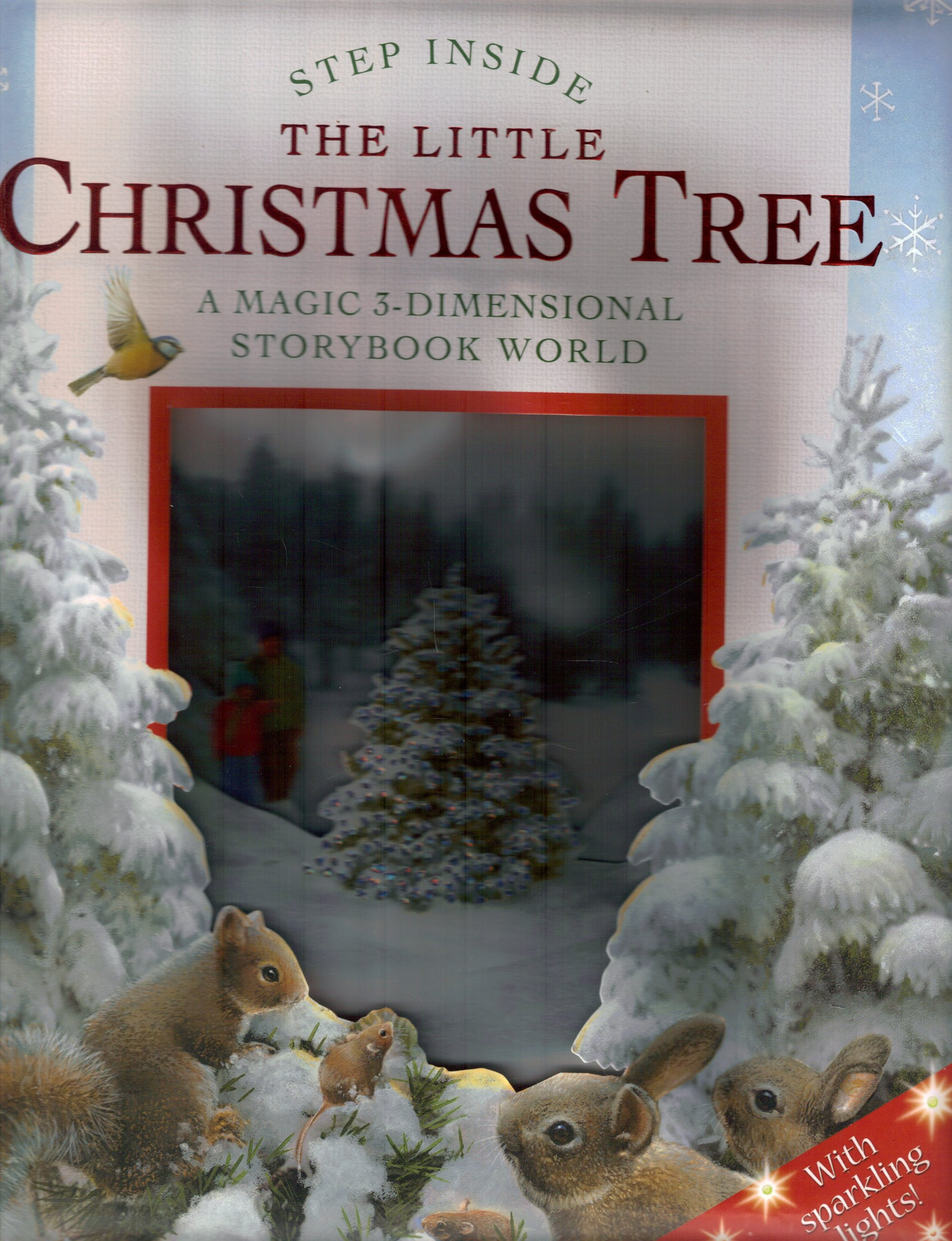 Download The Little Christmas Tree: A Magic 3-Dimensional Storybook World (Step Inside) pdf