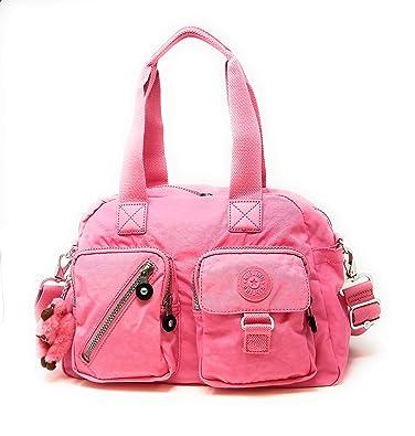 6469cf801c Amazon.com: Kipling Defea Metallic Handbag (One Size, Posey Pink ...