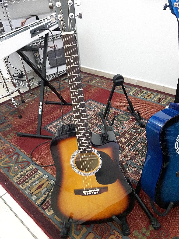EKO Spencer Guitarra Acústica EQ CW Sunburst