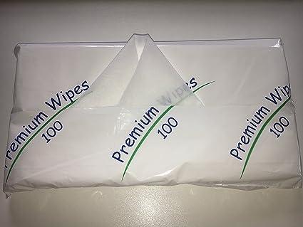 Premium toallitas 40 paquetes de 100 grandes secos Paciente Toallitas limpiadoras