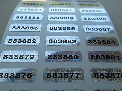 "25.4mm 500 Scratch Off Labels 1/"" Round Blue Stickers"