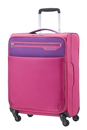 American Tourister - Lightway spinner equipaje de cabina, rosa/morado, S (55cm-39,5L): Amazon.es: Equipaje