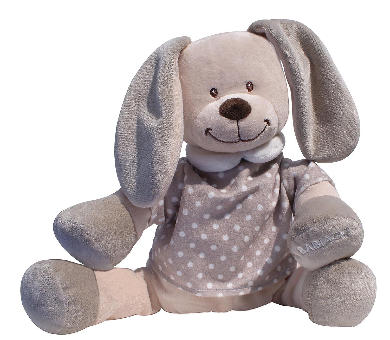 Doodoo Babiage Osito Beige - Juguete de peluche con módulo de sonido que hace sonidos del utero para calmar a un bebé recién nacido Planet baby 0101