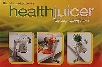 Compra Mano Exprimidor - Healthy Juicer, los Restos y saludable Zumos, la Exprimidor para viajes, ideal para HIERBA DE TRIGO o otro Frutas y Verduras en ...