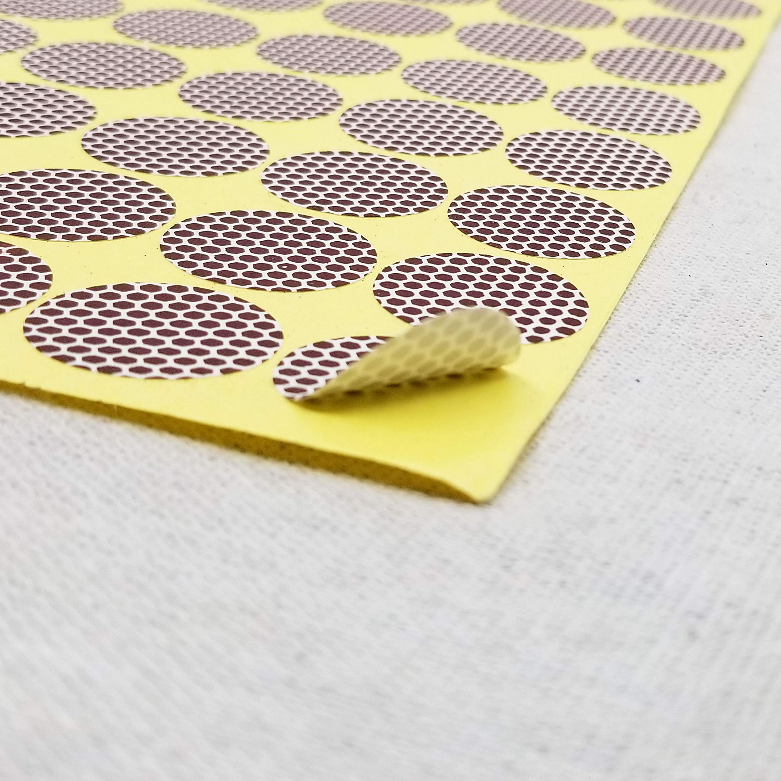 Circle Match Strikers 1.00'' - Honeycomb Pattern - 100 Pieces by Strike a Match (Image #2)