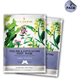 LuxaDerme Peeling and Exfoliating Foot Mask, 40 ml (Pack Of 2)