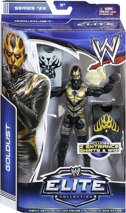 Goldust Elite Series 36 WWE Mattel Wrestling Figure