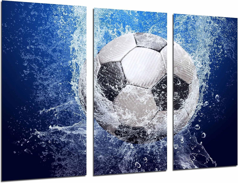 Cuadros Cámara Cuadro Fotográfico Balon de futbol Impacto en el ...