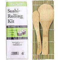 Exzact EX-SR04 Kit de bambú para enrollar Sushi