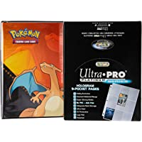 Deals on Charizard 2-ft Album w/100 Ultra Pro Platinum 9-Pocket Sheets