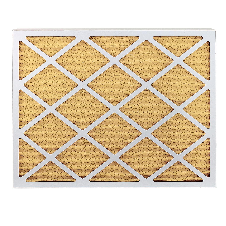 Pack of 6 Filters Gold AFB18x30x1M11pk6 18x30x1 FilterBuy 18x30x1 MERV 11 Pleated AC Furnace Air Filter,