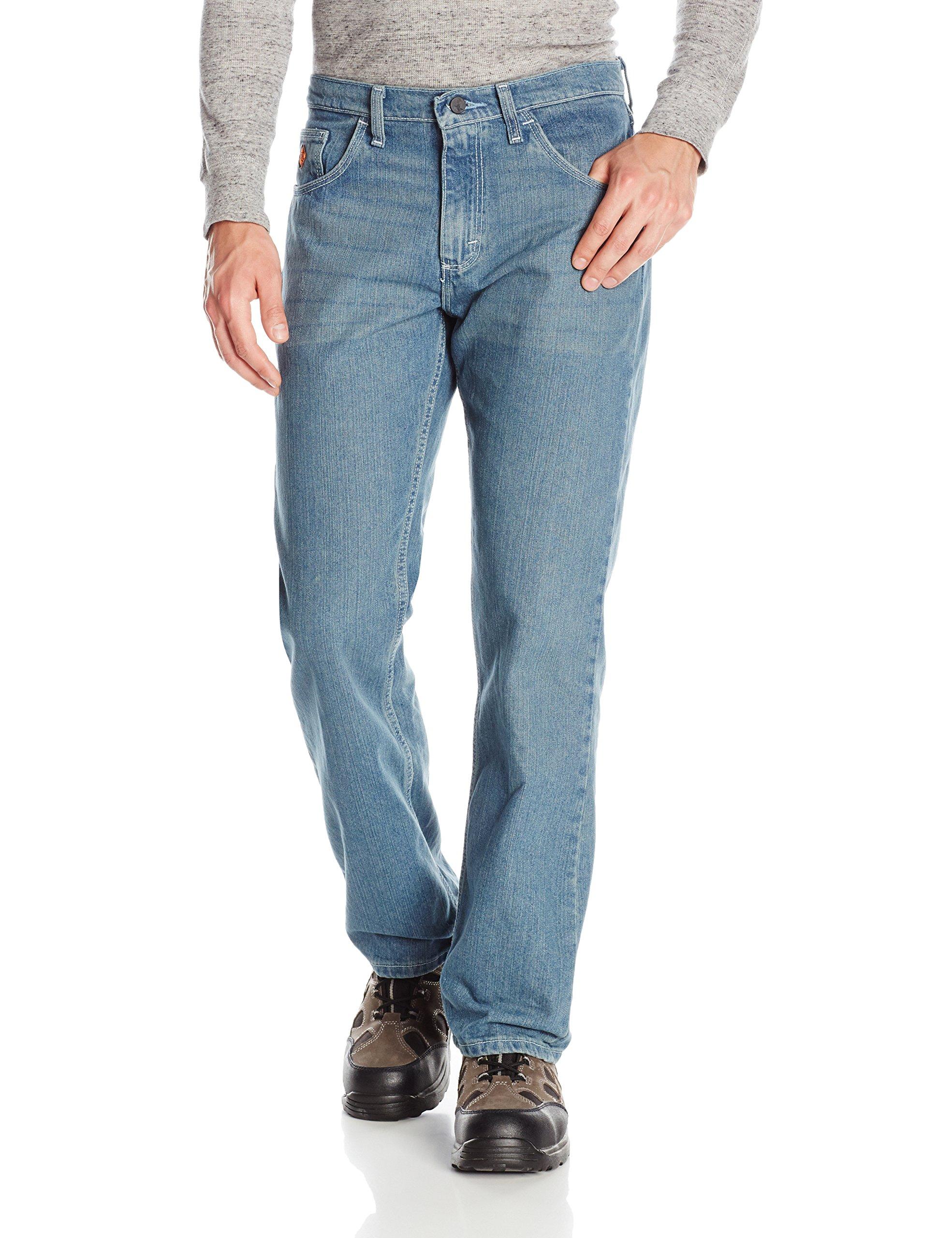 Wrangler Men's 20x Flame Resistant Cool Vantage Boot Cut Jean, Vintage, 36x30