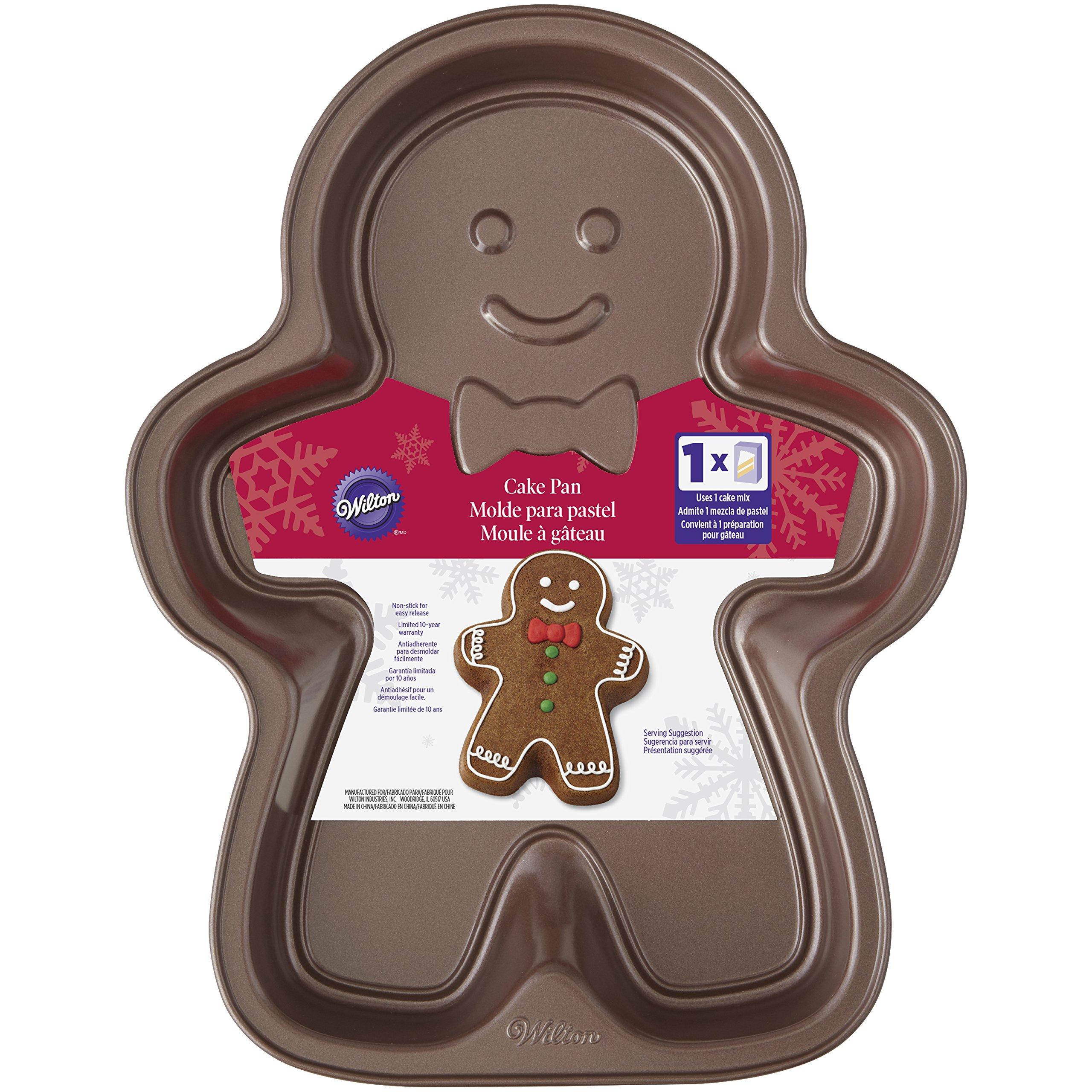 Wilton Gingerbread Boy Cake Pan
