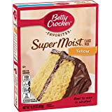 Betty Crocker Super Moist Cake Mix, Yellow, 15.25 oz