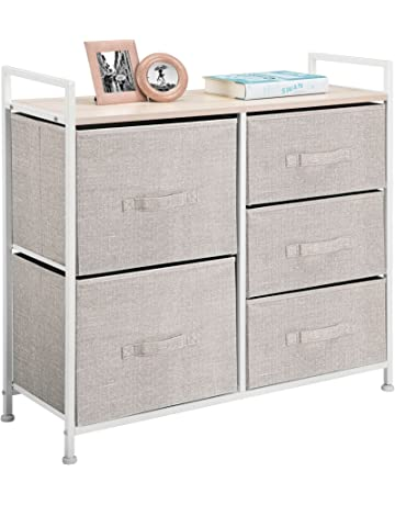 Mdesign Wide Dresser Storage Tower Organizer Unit 5 Drawers