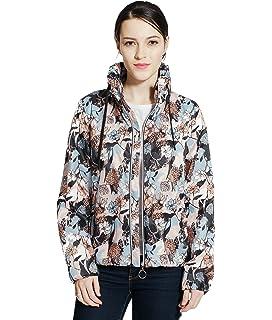 91981e7a60ad7 Rokka Rolla Women s Lightweight Quick Dry Water Resistant Casual Hooded Windbreaker  Rain Jacket