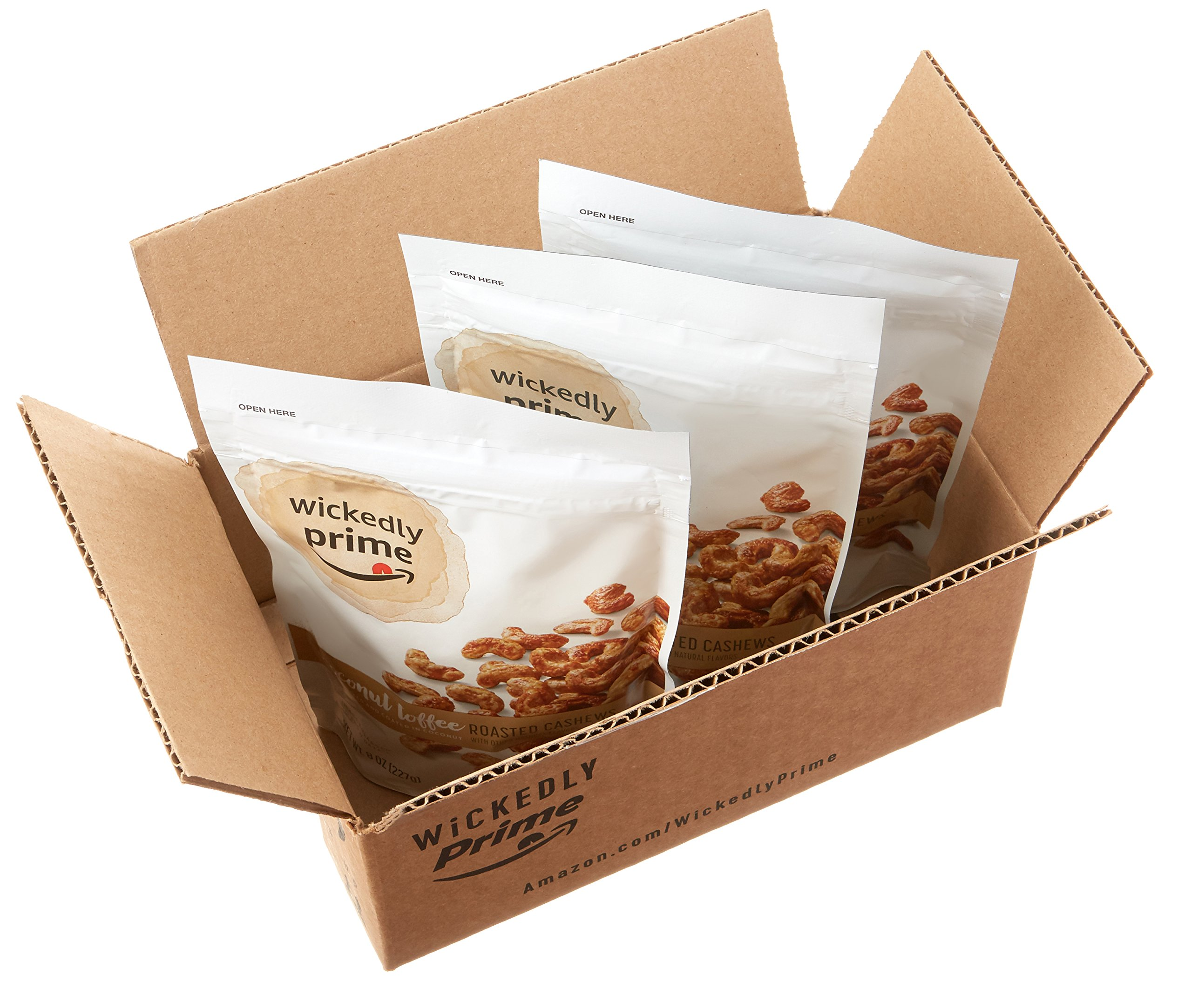 Wickedly Prime Roasted Cashews, Coconut Toffee, 8 Ounce (Pack of 3) by Wickedly Prime (Image #7)