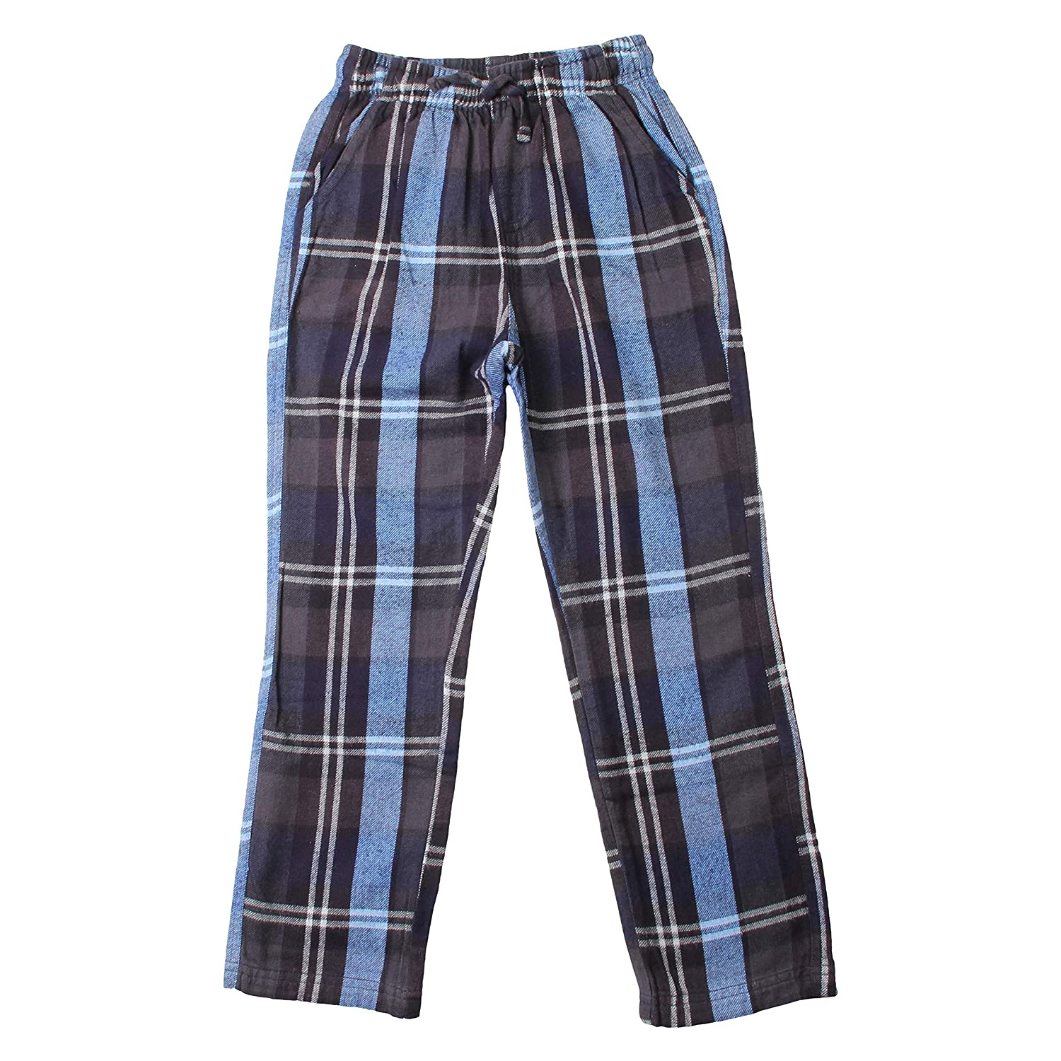 Wes and Willy Plaid Pant-Midnight