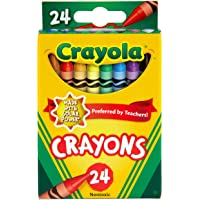 Crayola 24 Pack Regular Crayons, Perfect for Art, Colouring and Drawing, Classic Crayola Colours, Preferred by Teachers…