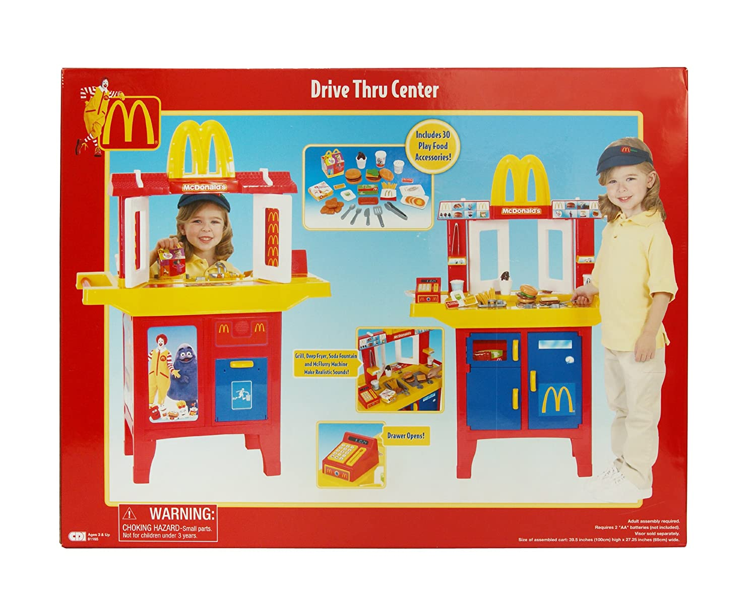 Amazon com: Mc Donalds Mcd Drive Thru Center (Closed Box): Toys & Games