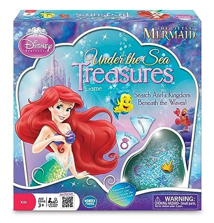 The Little Mermaid Under Sea Treasures Game