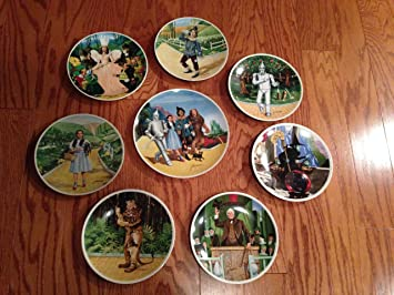 Full Set of 8 Knowles Wizard of Oz Collector Plates By James Auckland (1978) & Amazon.com: Full Set of 8 Knowles Wizard of Oz Collector Plates By ...
