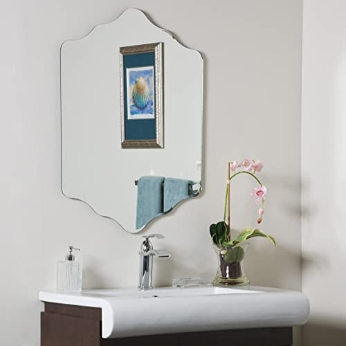 Decor Wonderland Vandam Frameless Bathroom Mirror