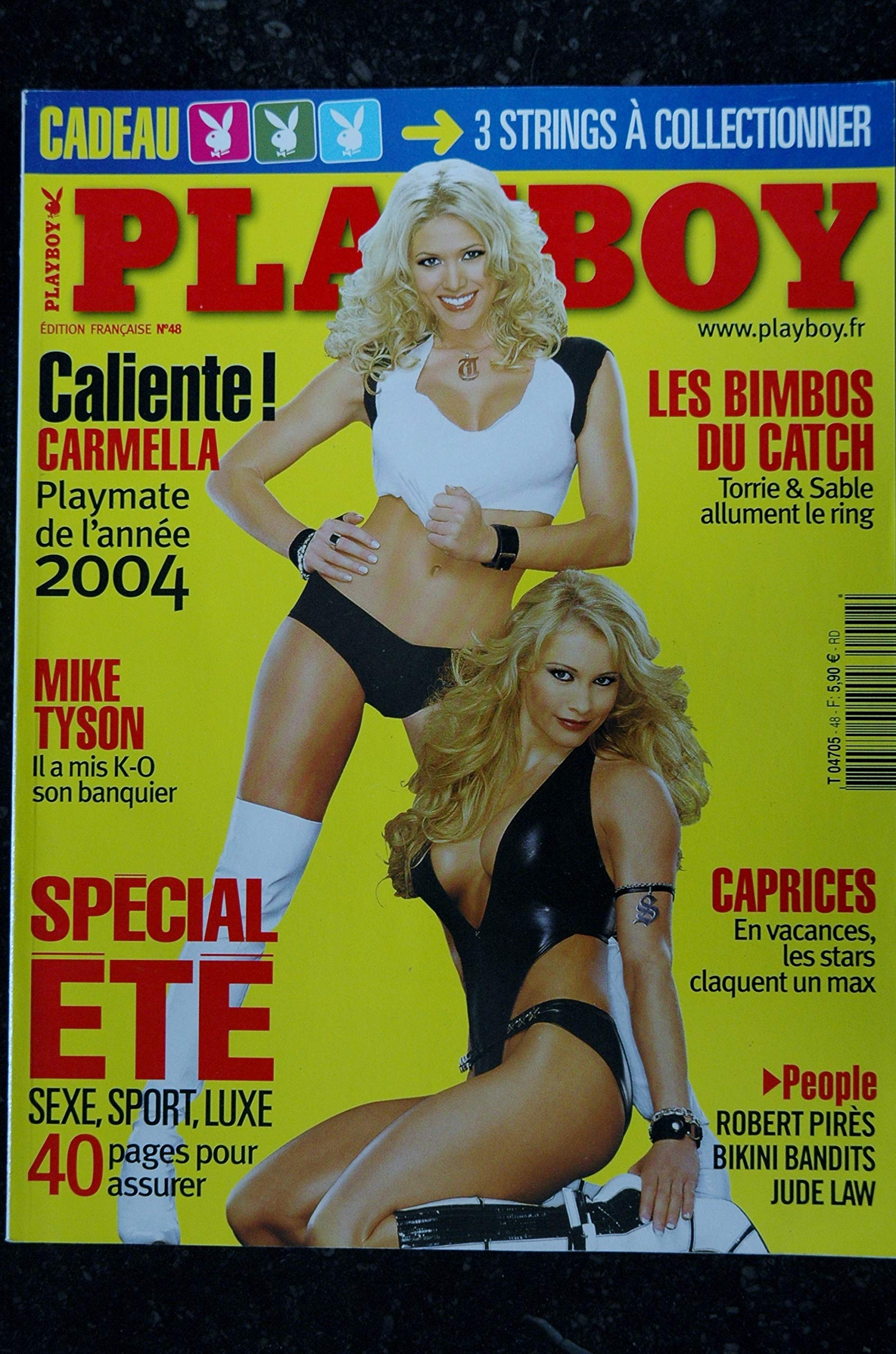Melzer playboy anja TV presenter