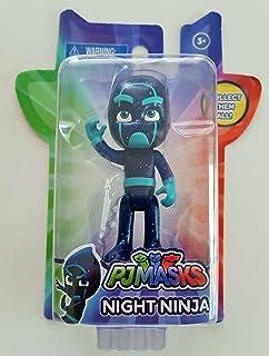 Amazon.com: PJ Masks Vehicle & Figure - Night Ninja Bus ...