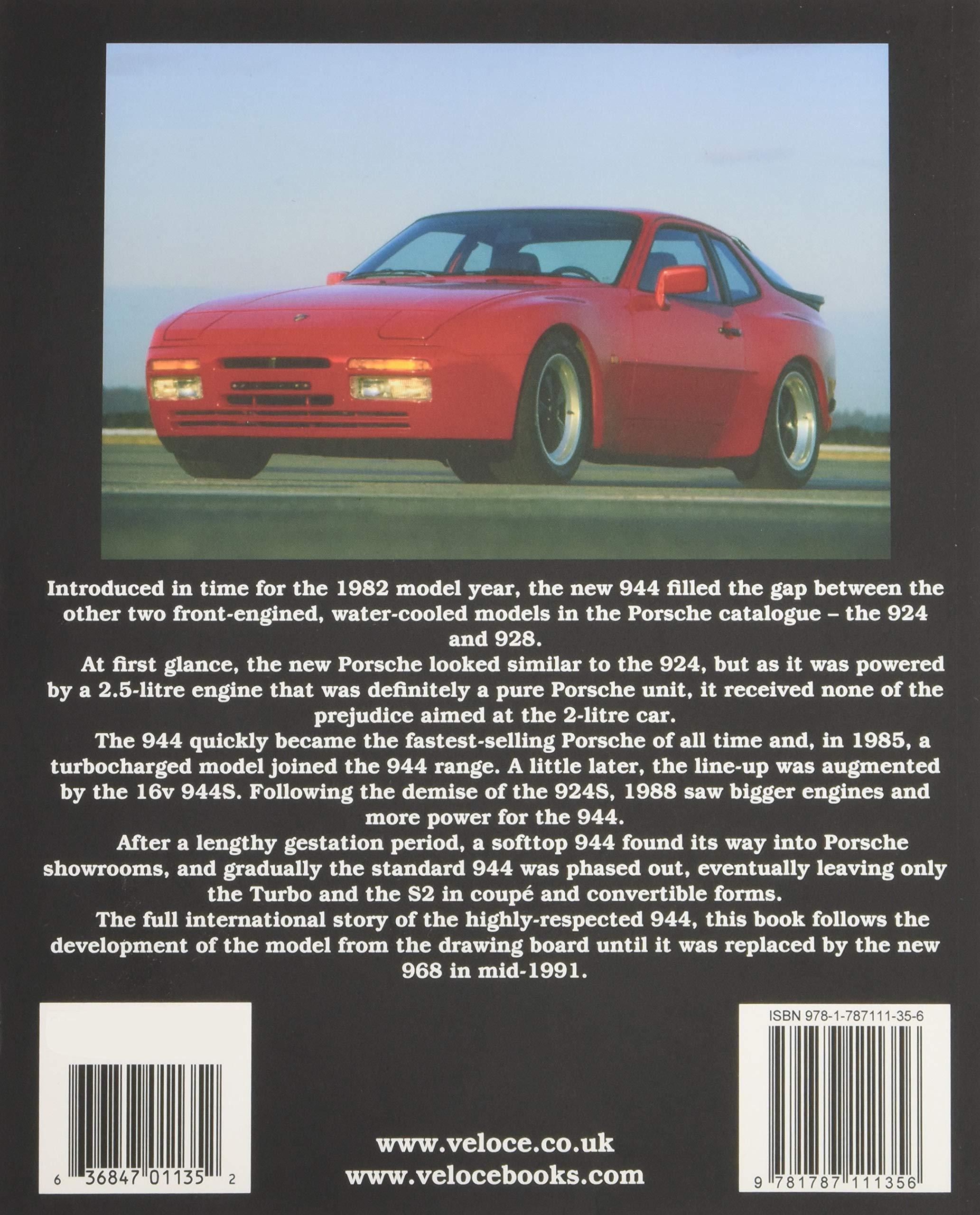 Porsche 944 (Classic Reprint): Amazon.es: Brian Long: Libros en idiomas extranjeros