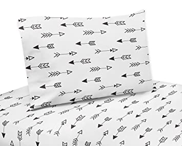 Brand-new Amazon.com: Arrow Print 3 Piece Twin Sheet Set for Black and White  HA91