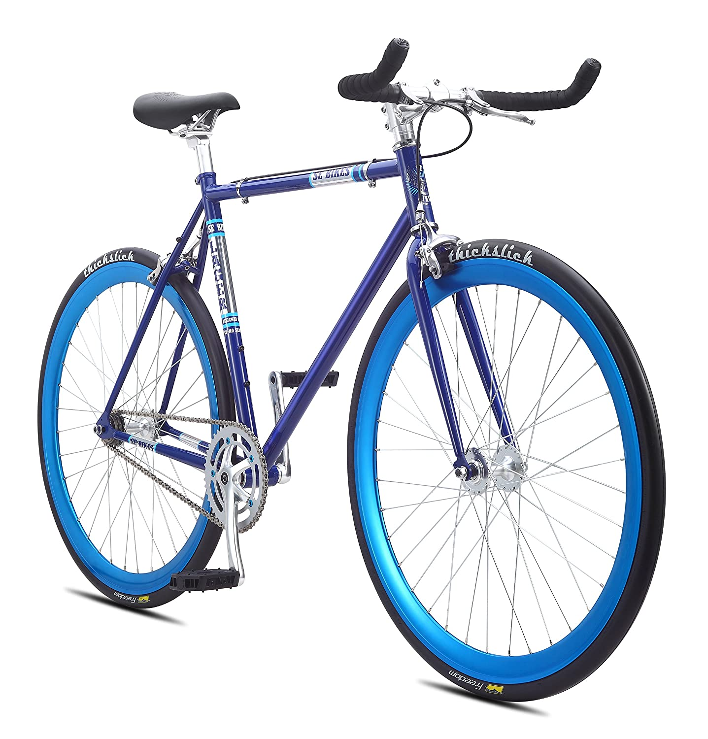 image of blue se lager bike