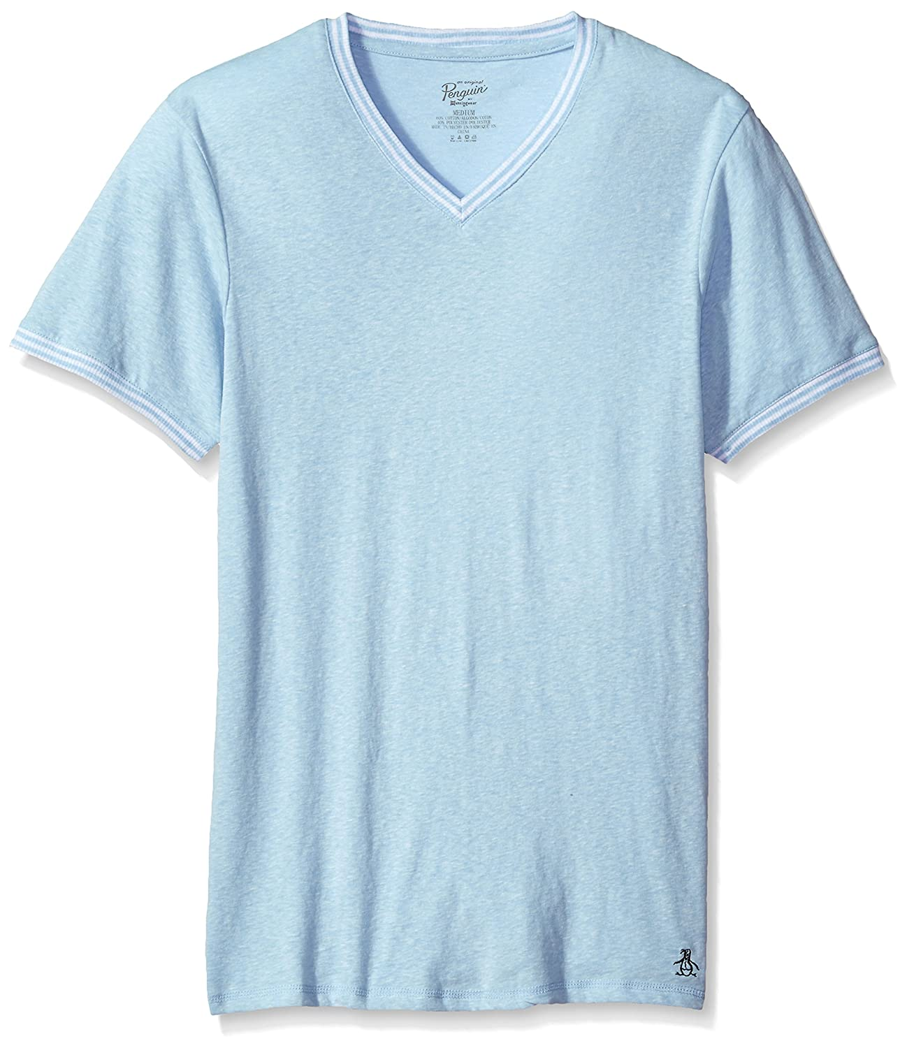 Original Penguin Men's S/S V Neck Jersey Tee RPM2201