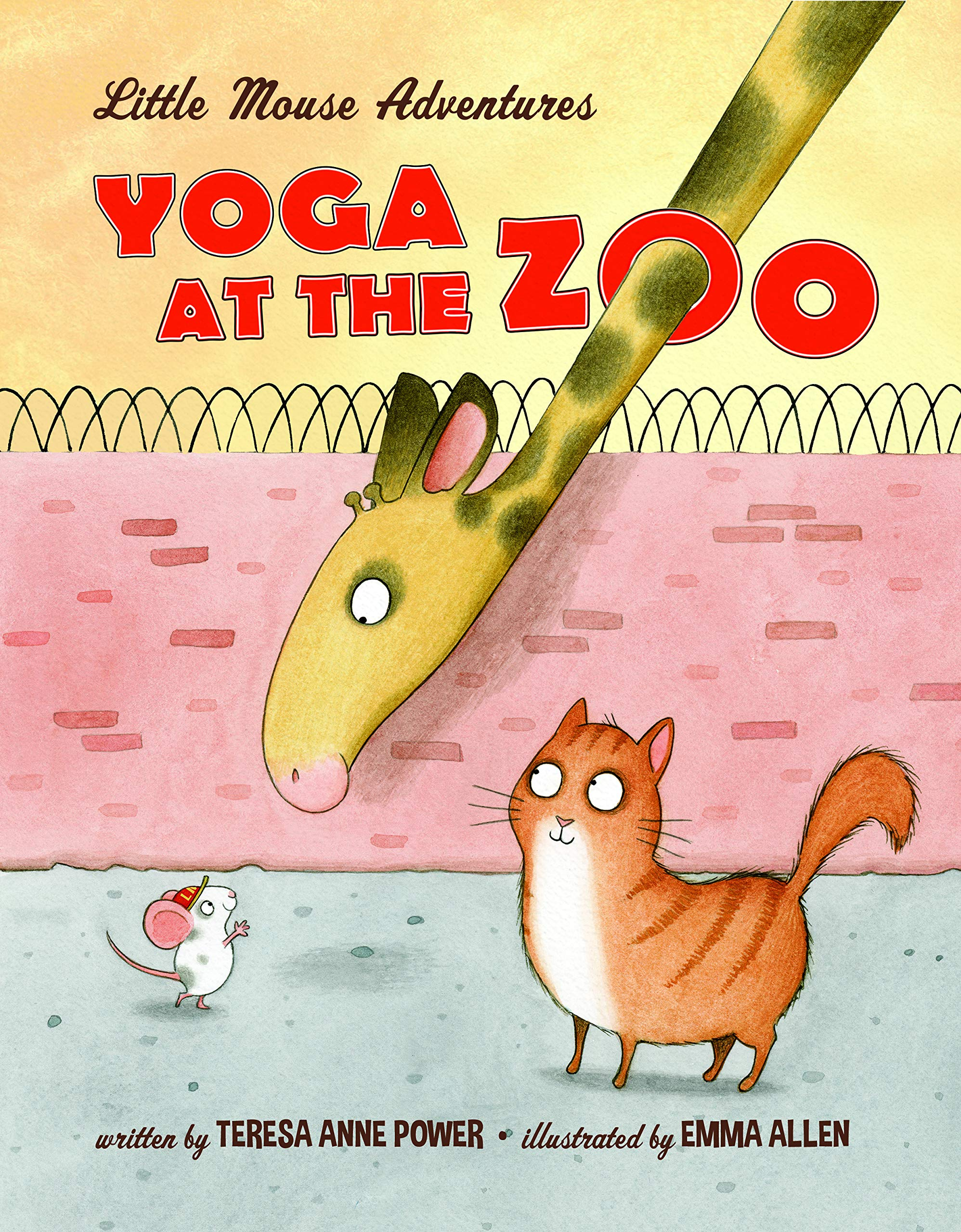 Yoga at the Zoo: Little Mouse Adventures: Amazon.es: Teresa ...