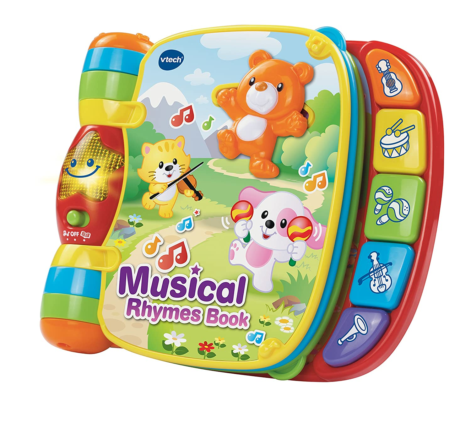 VTech Baby Musical Rhymes Book VTech Baby Amazon Baby