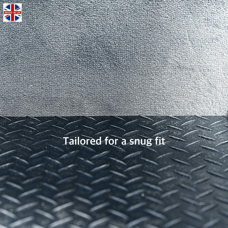 Sakura WW9527 Tailored Boot Mat Black Rubber