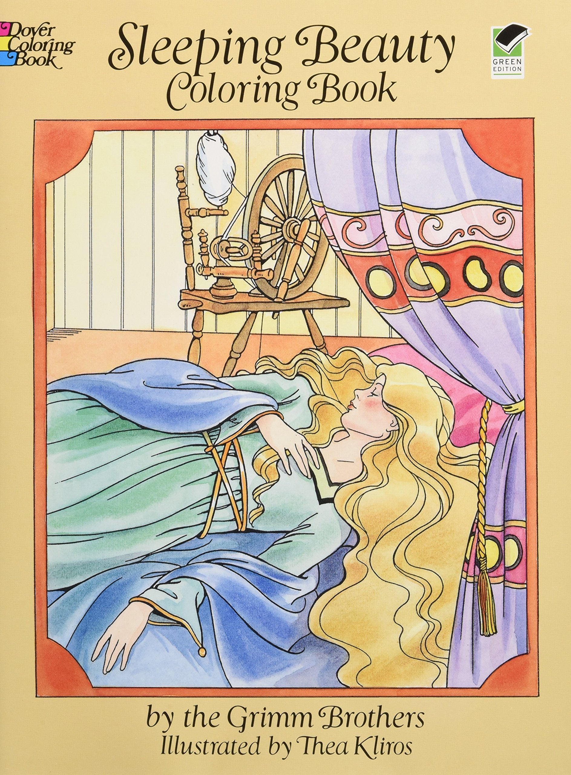 Sleeping Beauty Coloring Book: Brothers Grimm, Thea Kliros ...