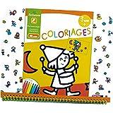 Au SYCOMORE - Cre6011 - Coloriage Personnages - 3+ Ans - Multicolore