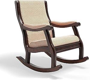 Furniture of America Betty Rocking Chair, Antique Oak