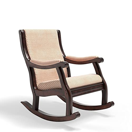Furniture of America Betty Rocking Chair, Antique Oak - Antique Wood Rocking Chair: Amazon.com