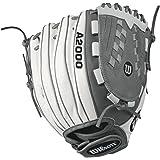 Wilson A2000 V125 White SuperSkin Fastpitch Glove
